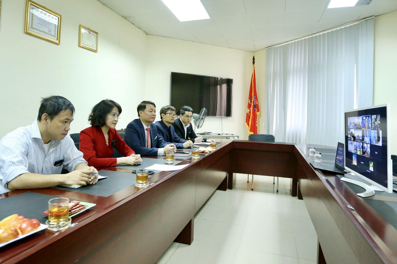 """Khai mạc """"Chương trình kết nối công nghệ trực tuyến lĩnh vực công nghiệp phụ trợ"""" với các đối tác thành phố Changwon, Hàn Quốc"""