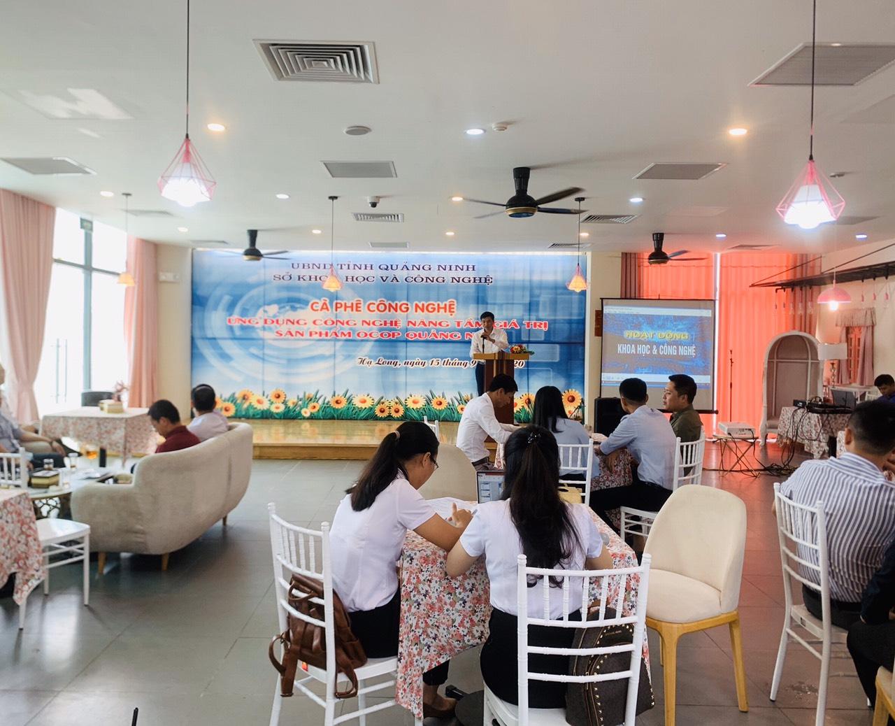 Ứng dụng công nghệ nâng tầm giá trị sản phẩm OCOP Quảng Ninh