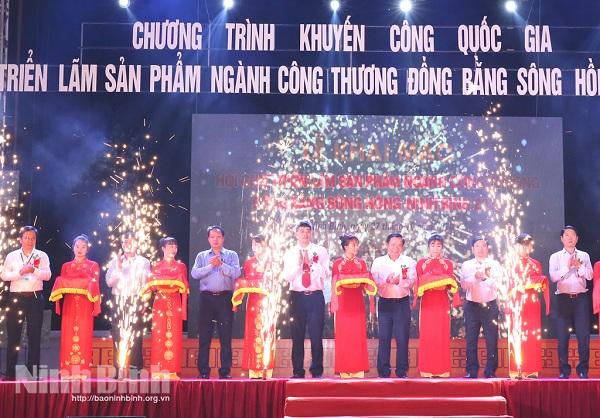 Hội chợ triển lãm sản phẩm ngành công thương đồng bằng sông Hồng- Ninh Bình năm 2020