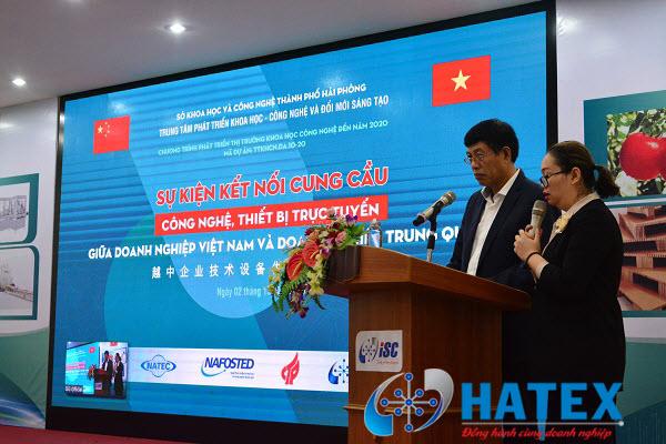 Hải Phòng: Kết nối cung cầu công nghệ, thiết bị trực tuyến giữa doanh nghiệp Việt Nam và Trung Quốc