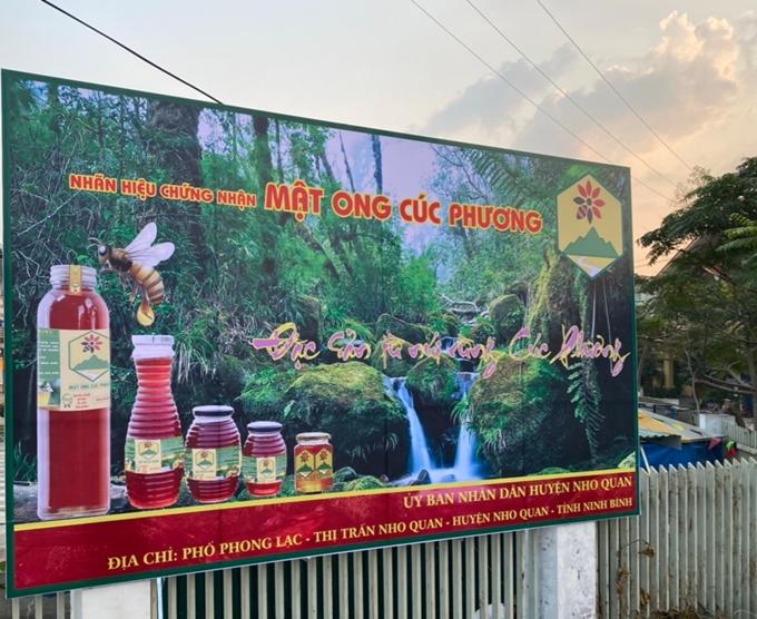 """Ninh Bình:  Xây dựng nhãn hiệu chứng nhận """"Mật ong Cúc Phương"""""""