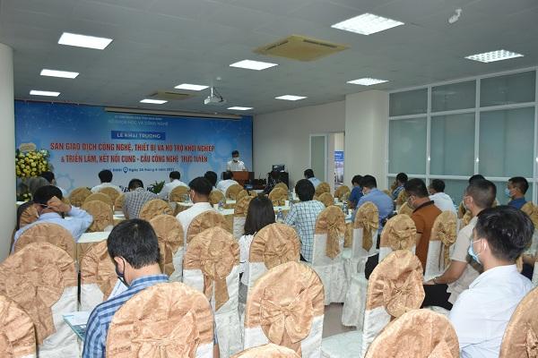 Nam Định: Sàn giao dịch công nghệ, thiết bị và Hỗ trợ khỏi nghiệp chính thức đi vào hoạt động