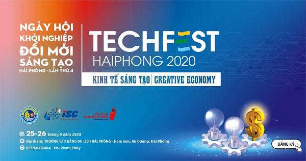 Sắp diễn ra Ngày hội Khởi nghiệp Hải Phòng lần thứ 4- Techfest Hai Phong 2020: Kinh tế Sáng tạo